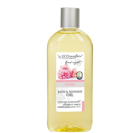 Eco receptura Peony - Bath & Massage Oil