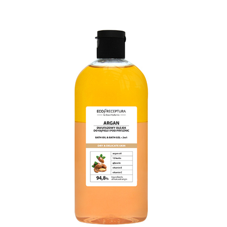 Argan 2 in 1 bath oil & gel