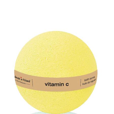 Vitamin C bath ball